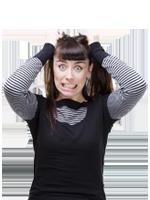 В стрессе и тревоге